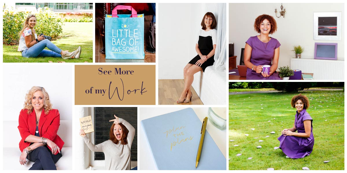 Examples of Personal Branding Photography with female entrepreneurs